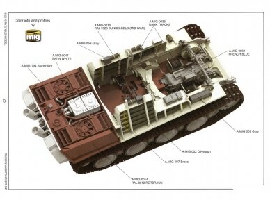 Rye Field Model - Jagdpanther G2 with Full Interior and Workable Track Links, Mastelis: 1/35, RFM-5022 22