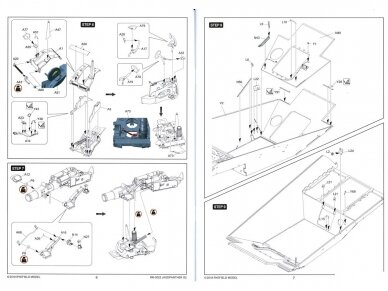 Rye Field Model - Jagdpanther G2 with Full Interior and Workable Track Links, Mastelis: 1/35, RFM-5022 24