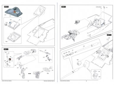 Rye Field Model - Jagdpanther G2 with Full Interior and Workable Track Links, Mastelis: 1/35, RFM-5022 25