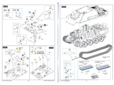 Rye Field Model - Jagdpanther G2 with Full Interior and Workable Track Links, Mastelis: 1/35, RFM-5022 39