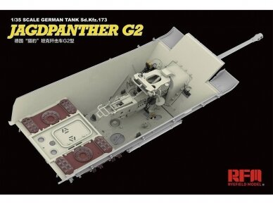 Rye Field Model - Jagdpanther G2 with Full Interior and Workable Track Links, Mastelis: 1/35, RFM-5022 6