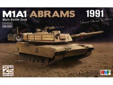 "Rye Field Model - M1A1 Abrams ""Desert Storm edition 1991"", Mastelis: 1/35, RFM-5006"