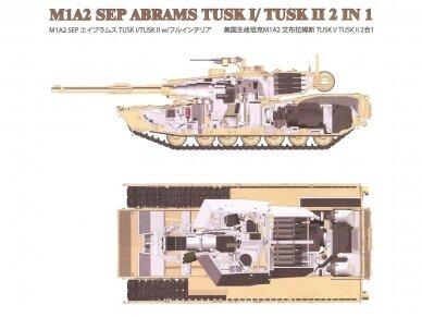 Rye Field Model - M1A2 SEP Abrams TUSK I /TUSK II su pilnu interjeru, Mastelis: 1/35, RFM-5026 17
