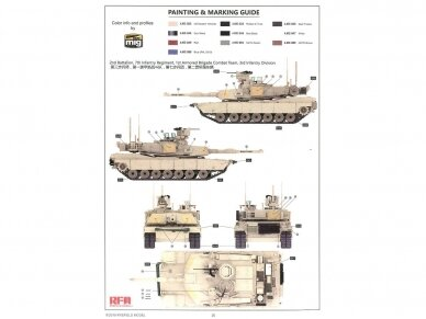 Rye Field Model - M1A2 SEP V2, Mastelis: 1/35, RFM-5029 12