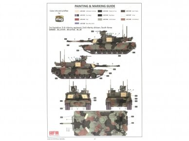 Rye Field Model - M1A2 SEP V2, Mastelis: 1/35, RFM-5029 13