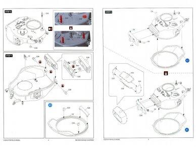 Rye Field Model - M4A3E8 Sherman w/Workable Track Links, Scale: 1/35, RFM-5028 14