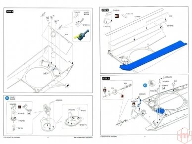 Rye Field Model - M4A3E8 Sherman w/Workable Track Links, Scale: 1/35, RFM-5028 16