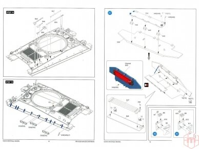 Rye Field Model - M4A3E8 Sherman w/Workable Track Links, Scale: 1/35, RFM-5028 18