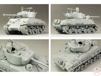 Rye Field Model - M4A3E8 Sherman w/Workable Track Links, Scale: 1/35, RFM-5028 2