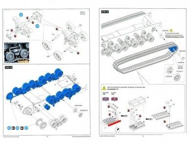 Rye Field Model - M4A3E8 Sherman w/Workable Track Links, Scale: 1/35, RFM-5028 21