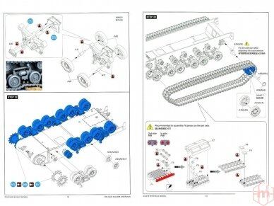 Rye Field Model - M4A3E8 Sherman w/Workable Track Links, Mastelis: 1/35, RFM-5028 21