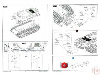 Rye Field Model - M4A3E8 Sherman w/Workable Track Links, Scale: 1/35, RFM-5028 22