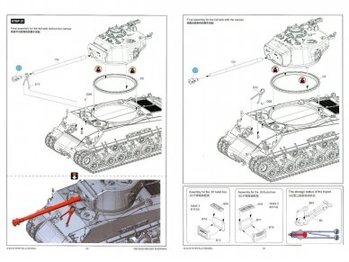Rye Field Model - M4A3E8 Sherman w/Workable Track Links, Scale: 1/35, RFM-5028 23