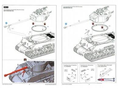 Rye Field Model - M4A3E8 Sherman w/Workable Track Links, Mastelis: 1/35, RFM-5028 23