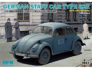 Rye Field Model - German Staff Car Type 82E, Mastelis: 1/35, RFM-5023