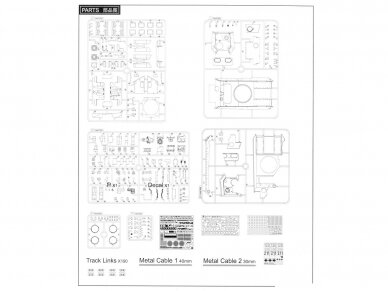 Rye Field Model - Panther Ausf.G with Full Interior & Cut Away Parts, Mastelis: 1/35, RFM-5019 24