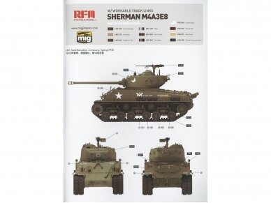 Rye Field Model - M4A3 76W HVSS Sherman With full interior and workable track links, Scale: 1/35, RFM-5042 13