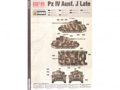 Rye Field Model - Pz.Kpfw.IV Ausf.H Sd.Kfz.161/1 Early Production, Scale: 1/35, RFM-5046 6