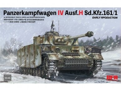 Rye Field Model - Pz.Kpfw.IV Ausf.H Sd.Kfz.161/1 Early Production, Scale: 1/35, RFM-5046