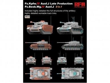 Rye Field Model - Pz.Kpfw.IV Ausf.J Late Production Pz.Beob.Wg.IV Ausf.J, Scale: 1/35, RFM-5033 2