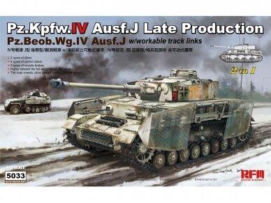 Rye Field Model - Pz.Kpfw.IV Ausf.J Late Production Pz.Beob.Wg.IV Ausf.J, Scale: 1/35, RFM-5033