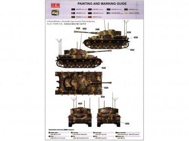 Rye Field Model - Pz.Kpfw.IV Ausf.J Late Production Pz.Beob.Wg.IV Ausf.J, Scale: 1/35, RFM-5033 12