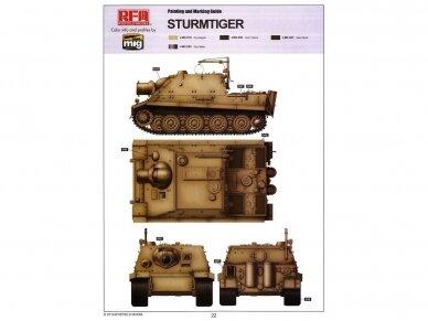 Rye Field Model - Sturmtiger w/Workable Track Links, Scale: 1/35, RFM-5035 9