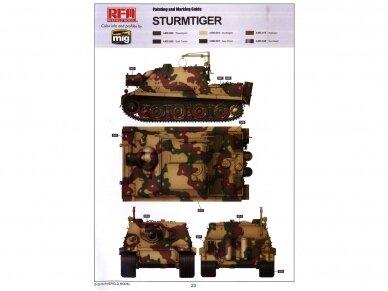 Rye Field Model - Sturmtiger w/Workable Track Links, Scale: 1/35, RFM-5035 10