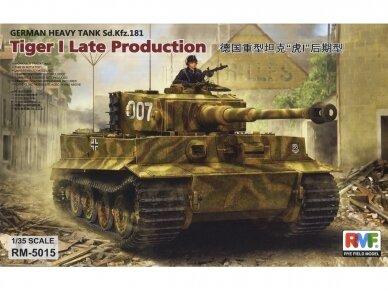 Rye Field Model - Sd.Kfz. 181 Pz.kpfw.VI Ausf. E Tiger I Late Production, Scale: 1/35, RFM-5015