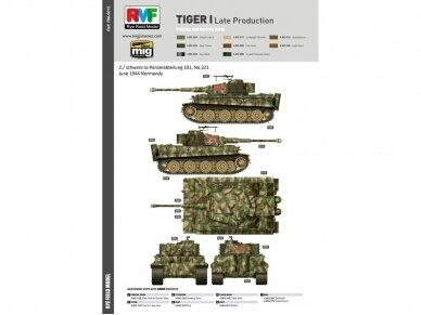 Rye Field Model - Sd.Kfz. 181 Pz.kpfw.VI Ausf. E Tiger I Late Production, Mastelis: 1/35, RFM-5015 14