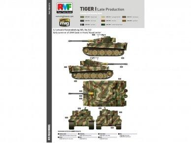 Rye Field Model - Sd.Kfz. 181 Pz.kpfw.VI Ausf. E Tiger I Late Production, Scale: 1/35, RFM-5015 15