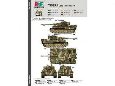 Rye Field Model - Sd.Kfz. 181 Pz.kpfw.VI Ausf. E Tiger I Late Production, Scale: 1/35, RFM-5015 16