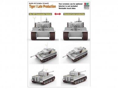 Rye Field Model - Sd.Kfz. 181 Pz.kpfw.VI Ausf. E Tiger I Late Production, Mastelis: 1/35, RFM-5015 4