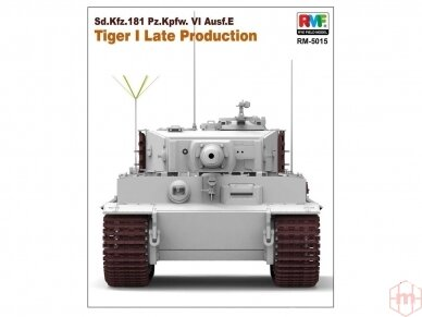 Rye Field Model - Sd.Kfz. 181 Pz.kpfw.VI Ausf. E Tiger I Late Production, Scale: 1/35, RFM-5015 2