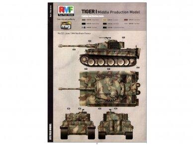 Rye Field Model - Sd.Kfz. 181 Pz.kpfw.VI Ausf. E Tiger I Middle Production su pilnu interjeru, Mastelis: 1/35, RFM-5010 15