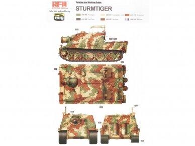 Rye Field Model - Sturmmorser Tiger RM61 L/5,4 / 38 cm With Full Interior, Mastelis: 1/35, RFM-5012 11