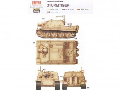 Rye Field Model - Sturmmorser Tiger RM61 L/5,4 / 38 cm With Full Interior, Mastelis: 1/35, RFM-5012 12