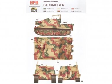 Rye Field Model - Sturmmorser Tiger RM61 L/5,4 / 38 cm With Full Interior, Mastelis: 1/35, RFM-5012 13