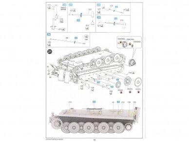 Rye Field Model - Sturmmorser Tiger RM61 L/5,4 / 38 cm With Full Interior, Mastelis: 1/35, RFM-5012 28