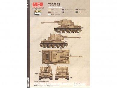 Rye Field Model - T-34/122 Egyptian, Mastelis: 1/35, RFM-5013 11
