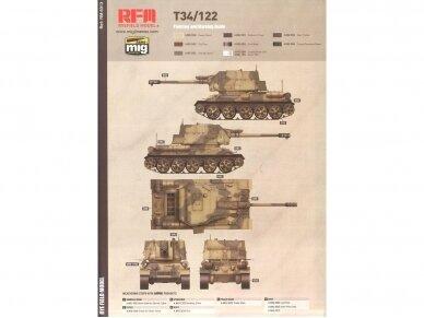 Rye Field Model - T-34/122 Egyptian, Mastelis: 1/35, RFM-5013 10