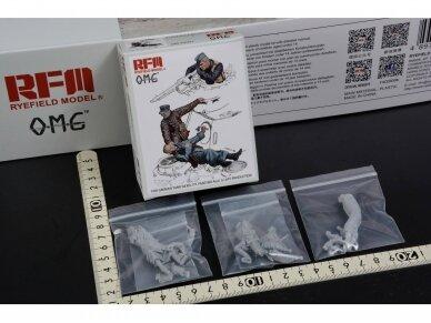 Rye Field Model - Figures for PANTHER G, Fallen Resin, 1/35, OM-35001