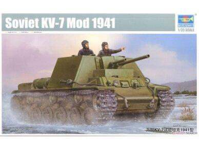 Trumpeter - Soviet KV-7 Mod 1941, Scale: 1/35, 09503