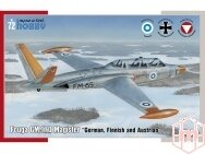 Special Hobby - Fouga CM.170 Magister German, Finnish and Austrian service, 1/72, 72373