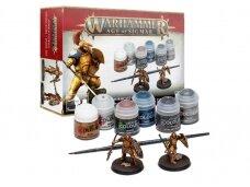 Stormcast Eternals Vindictors + Paints Set, 60-10