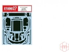 CSTUDIO 27 - R8 LMS GT3 Carbon Template (dekalės), 1/24, 24037
