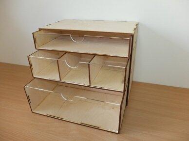 Stalčių modulis, MODBOX04 3