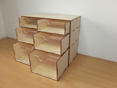 Stalčių modulis, MODBOX05 3