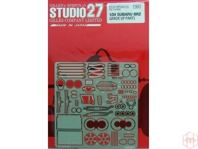 Studio27 - Subaru BRZ Fotoėsdintos detalės, Mastelis: 1/24, FP24155
