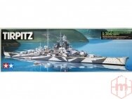Tamiya - Tirpitz German Battleship, 1/350, 78015